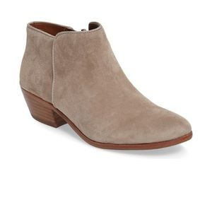Sam Edelman putty suede Booties petty Chelsea boot